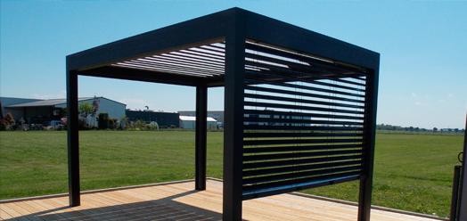 Pergola Bioclimatique En Kit Pas Cher Inspirant Photos Pergola Aluminium Lames orientables Belle Maison Design Tarzx