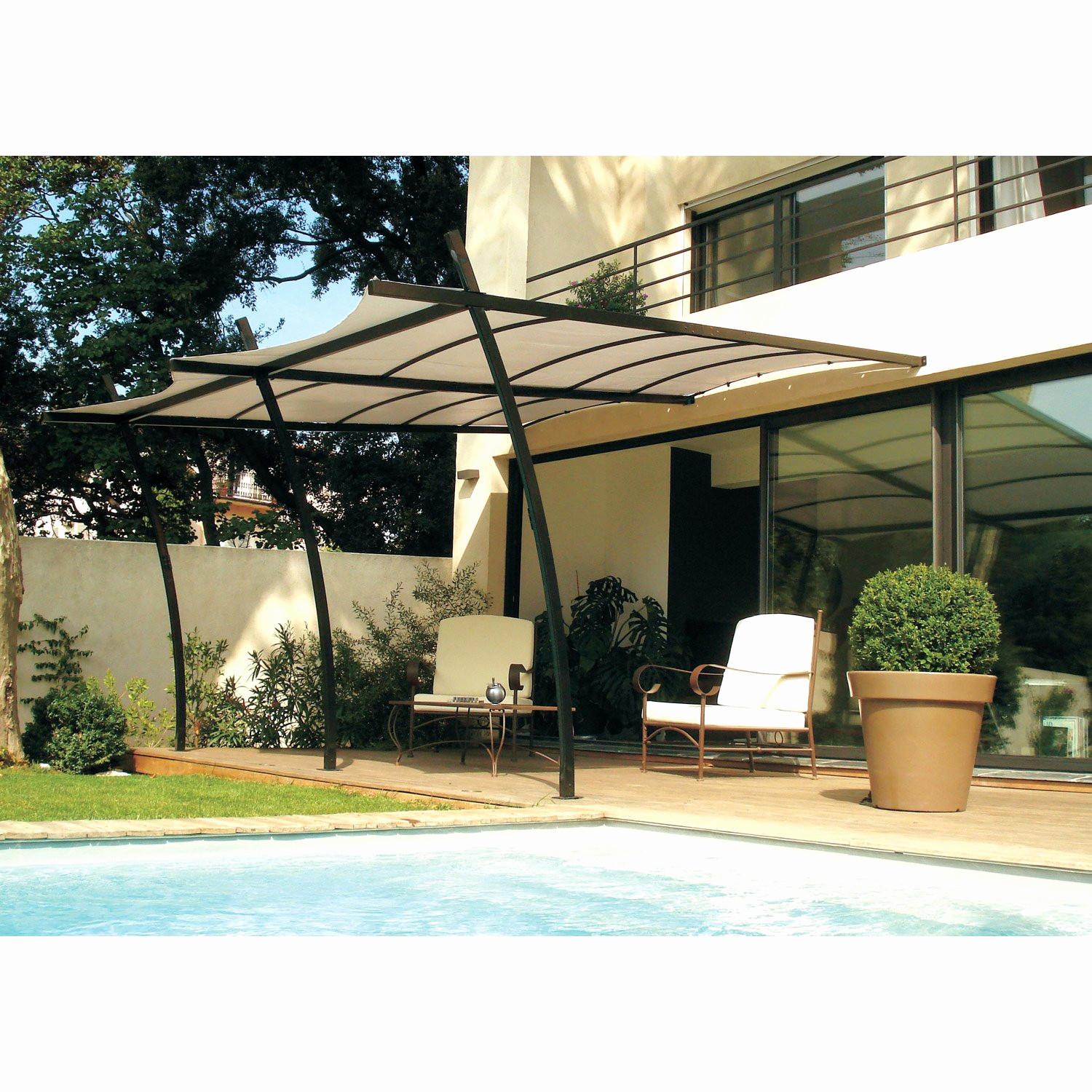 Pergola Bioclimatique En Kit Pas Cher Luxe Photos Le Agréable Pergola Bioclimatique Leroy Merlin Conception Pendant La