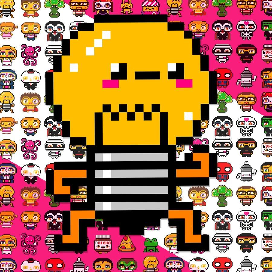 Pixel Art A Manger Inspirant Galerie Youtube Pixel Art Fz32