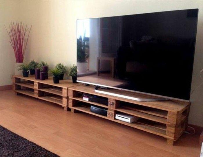 Plan Banc Palette Élégant Collection Fabriquer Un Meuble Tv Instructions Et Mod¨les Diy