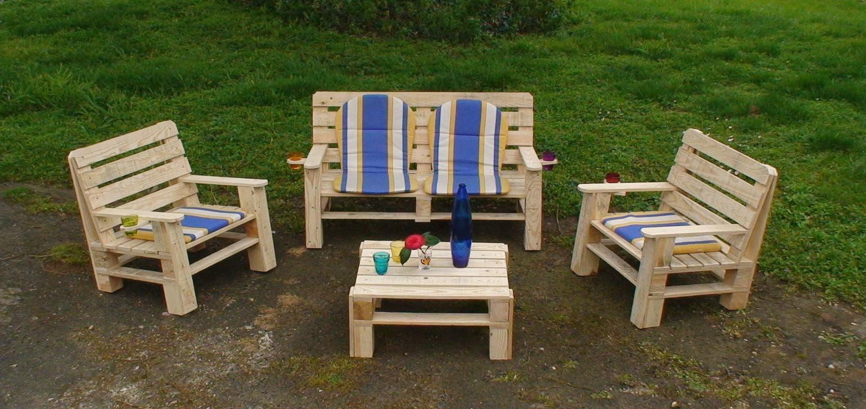 Plan Banc Palette Luxe Photos Banc De Jardin En Bois De Palette étonnant Plan Salon De Jardin En