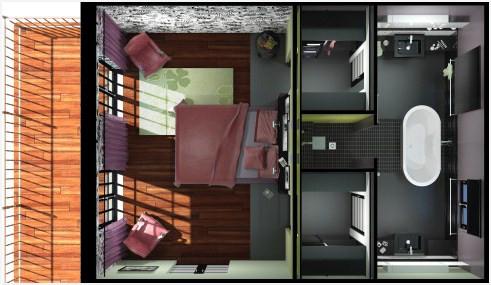 Plan Chambre Avec Dressing Beau Images Chambre Avec Salle De Bain Et Dressing Populairement Salle De Bain