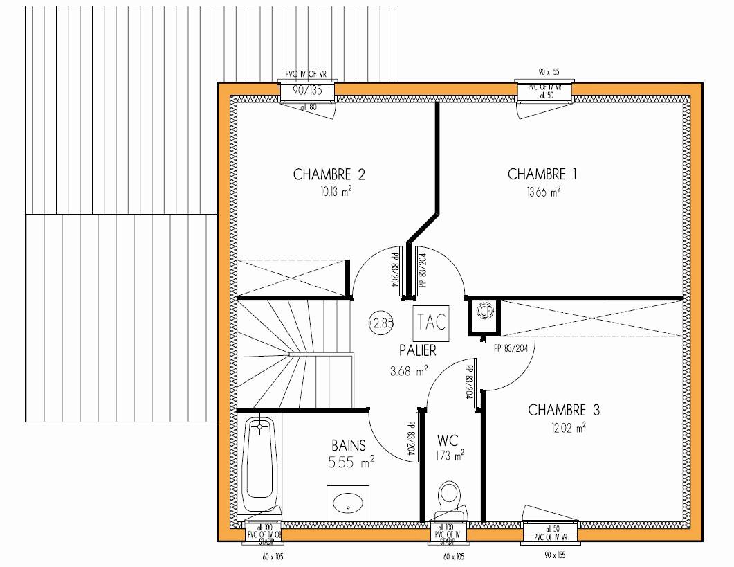 Plan Chambre Avec Dressing Élégant Photographie Plan Maison Simple 3 Chambres Tmawebsolutions Tmawebsolutions