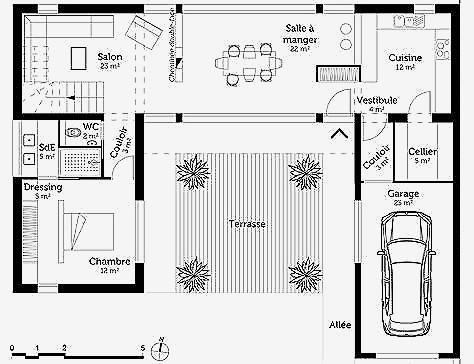 Plan Chambre Avec Dressing Élégant Stock Plan De Salle De Bain élégant Plan Dressing Gratuit élégant Bedroom