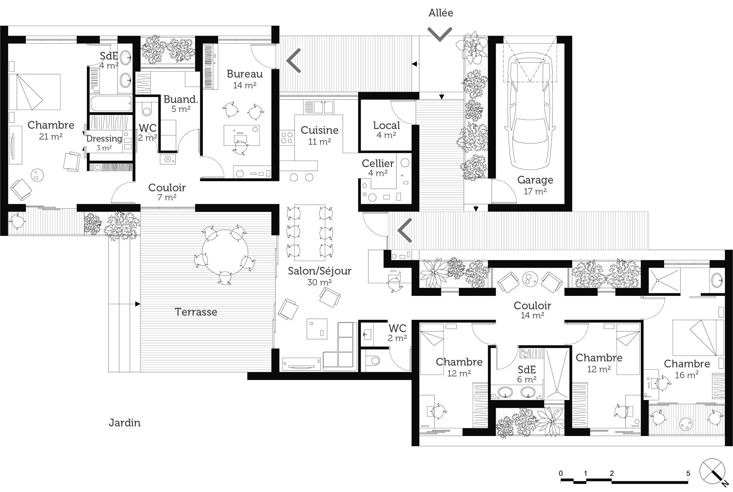 Plan Chambre Avec Dressing Frais Stock Chambre Parentale Moderne Avec Suite Parentale 20m2 Chambre