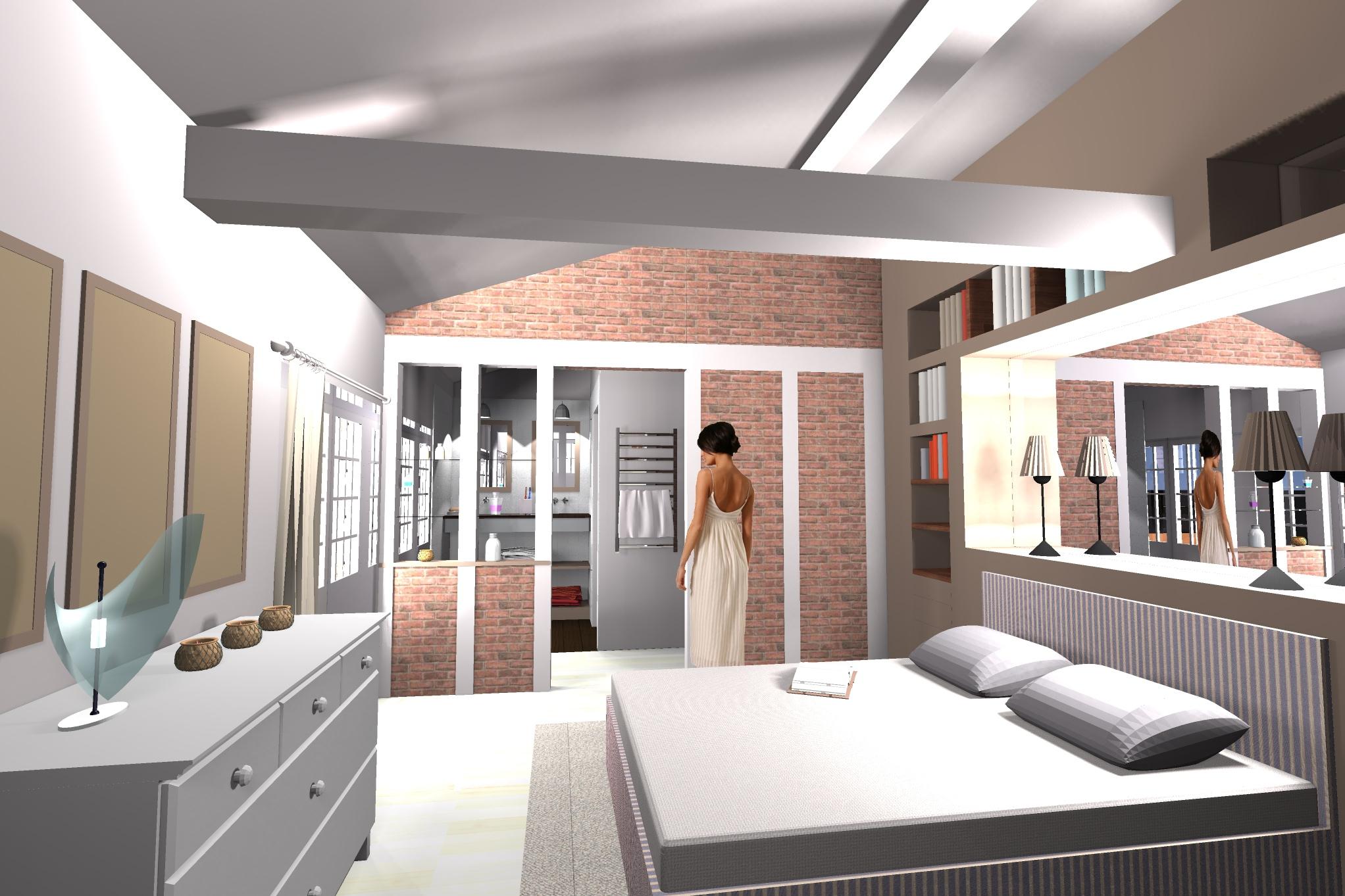 Plan Chambre Avec Dressing Impressionnant Photos Chambre Parentale Moderne Avec Good Idee Chambre Parentale Avec