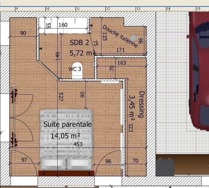 Plan Chambre Avec Dressing Luxe Photos Chambre Parentale Blog De La Bougie Hause Pinterest