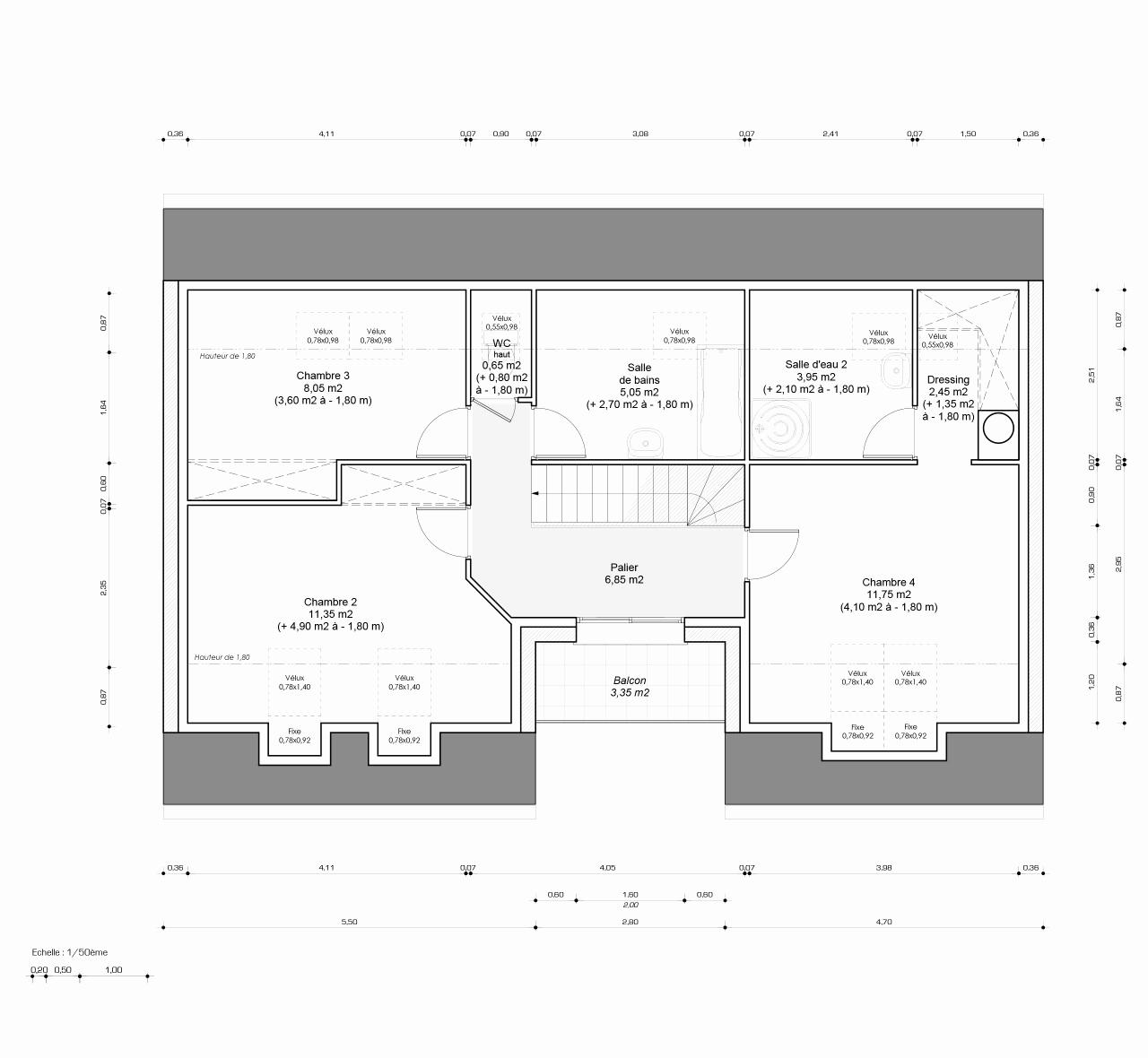 Plan Chambre Avec Dressing Nouveau Photos Plan De Dressing Chambre Plan Suite Parentale 12m2 Chambre Parentale