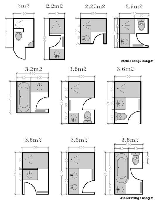 Plan Salle De Bain 5m2 Beau Image 16 Beau Plan Petite Salle De Bain Avec Wc