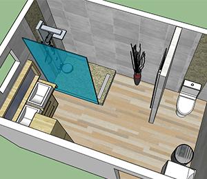 Plan Salle De Bain 5m2 Impressionnant Photos Amnager Une Salle De Bain De 5m2 Amnagement Salle De Bain M