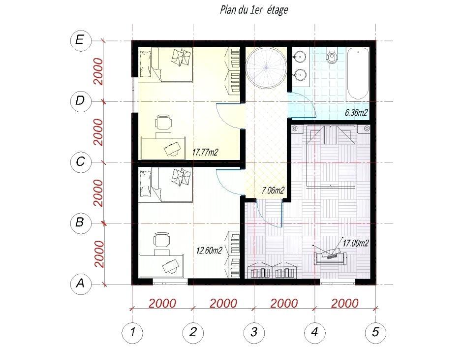 Plan Salle De Bain 5m2 Nouveau Photographie Amazing Amenagement Salle De Bain 5m2 1 Plan Ikea Newsindoco R