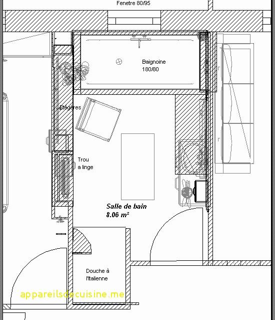 Plan Salle De Bain En Longueur Frais Image Résultat Supérieur Plan Salle De Bain Nouveau Nouveau Intérieur Des