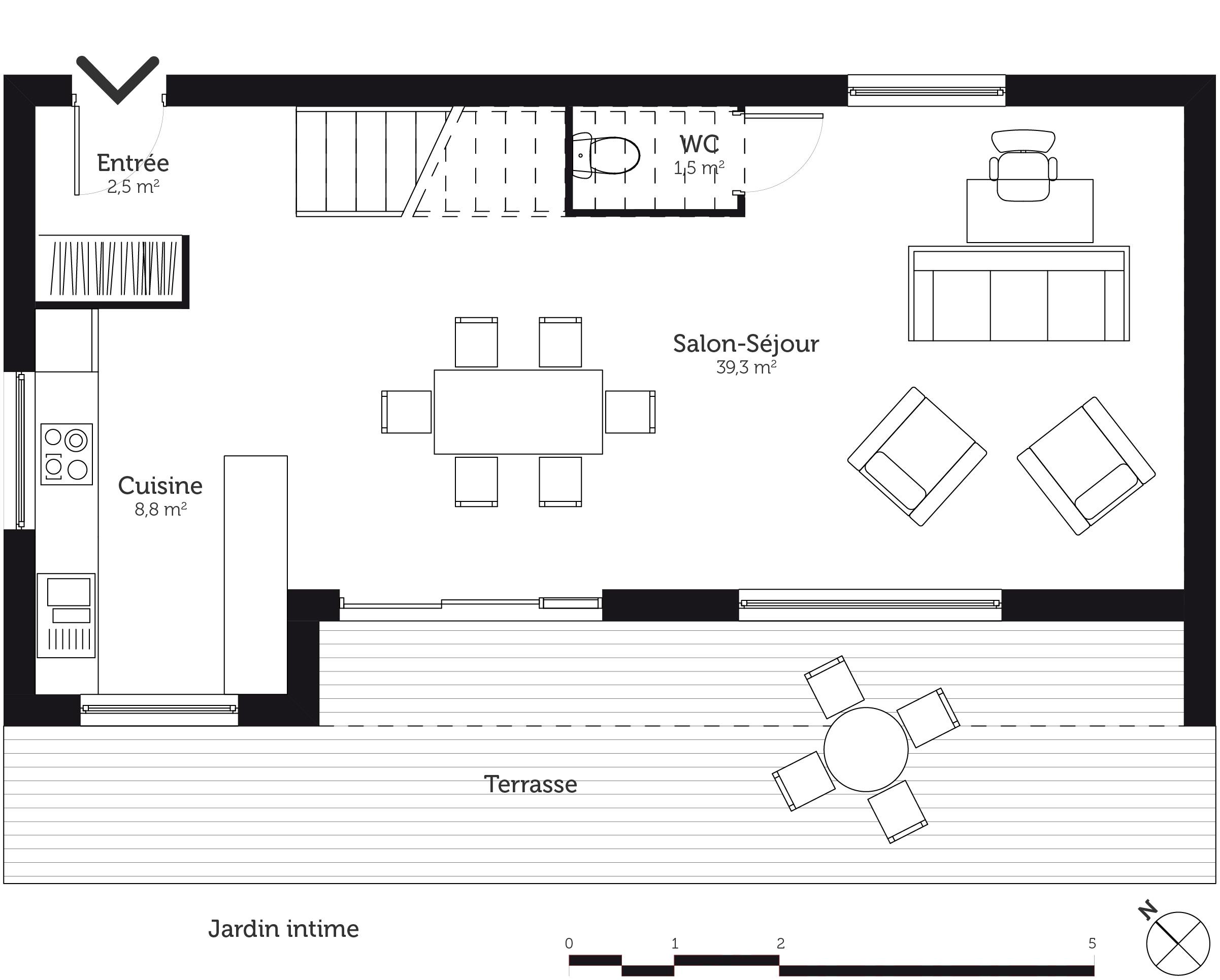 Plan Salle De Bain En Longueur Luxe Galerie Plan Maison Tage 110 M Avec 3 Chambres Ooreka De A Etage Gratuit