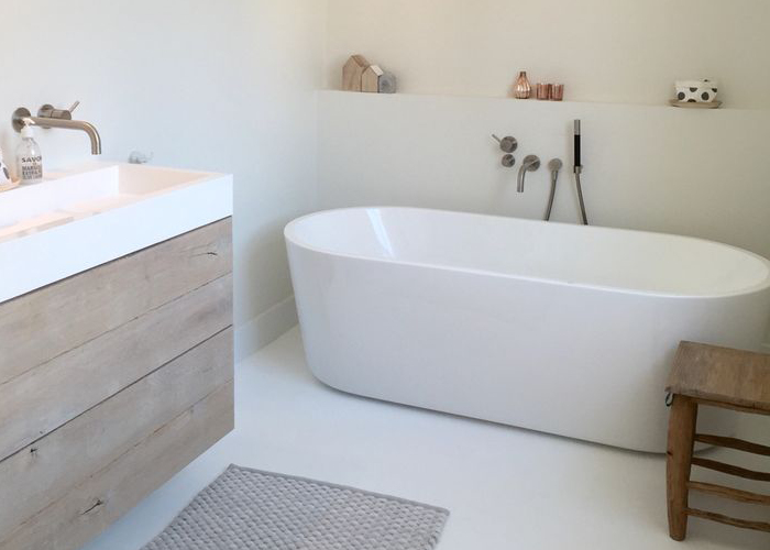 Plan Salle De Bain En Longueur Meilleur De Stock Losstaand Bad Bathroom Pinterest