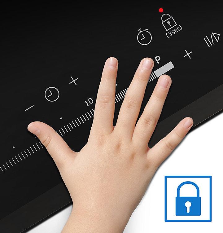Plaque Induction Avec Boutons De Commande Beau Photos Samsung Table  Induction Nz64k5747bk