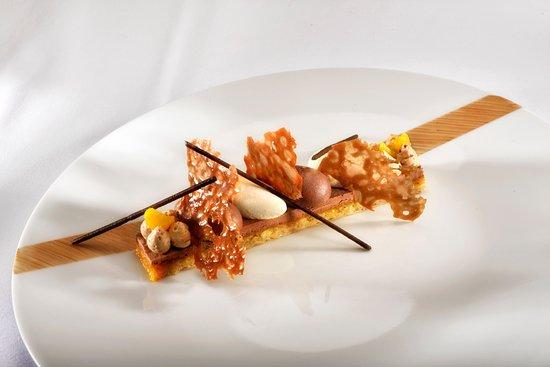 Plume Dans La Cuisine Beau Images Duo Chocolat Café Par Julien Allano Chef Du Clair De La Plume 1
