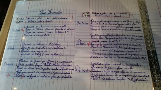 """Plume Dans La Cuisine Élégant Stock Le Menu écrit """" Me  L école"""" 1 2 De La Plume Blanche"""