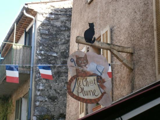 Plume Dans La Cuisine Luxe Image Insegna De Le Chat Plume Villeneuve Loubet Tripadvisor