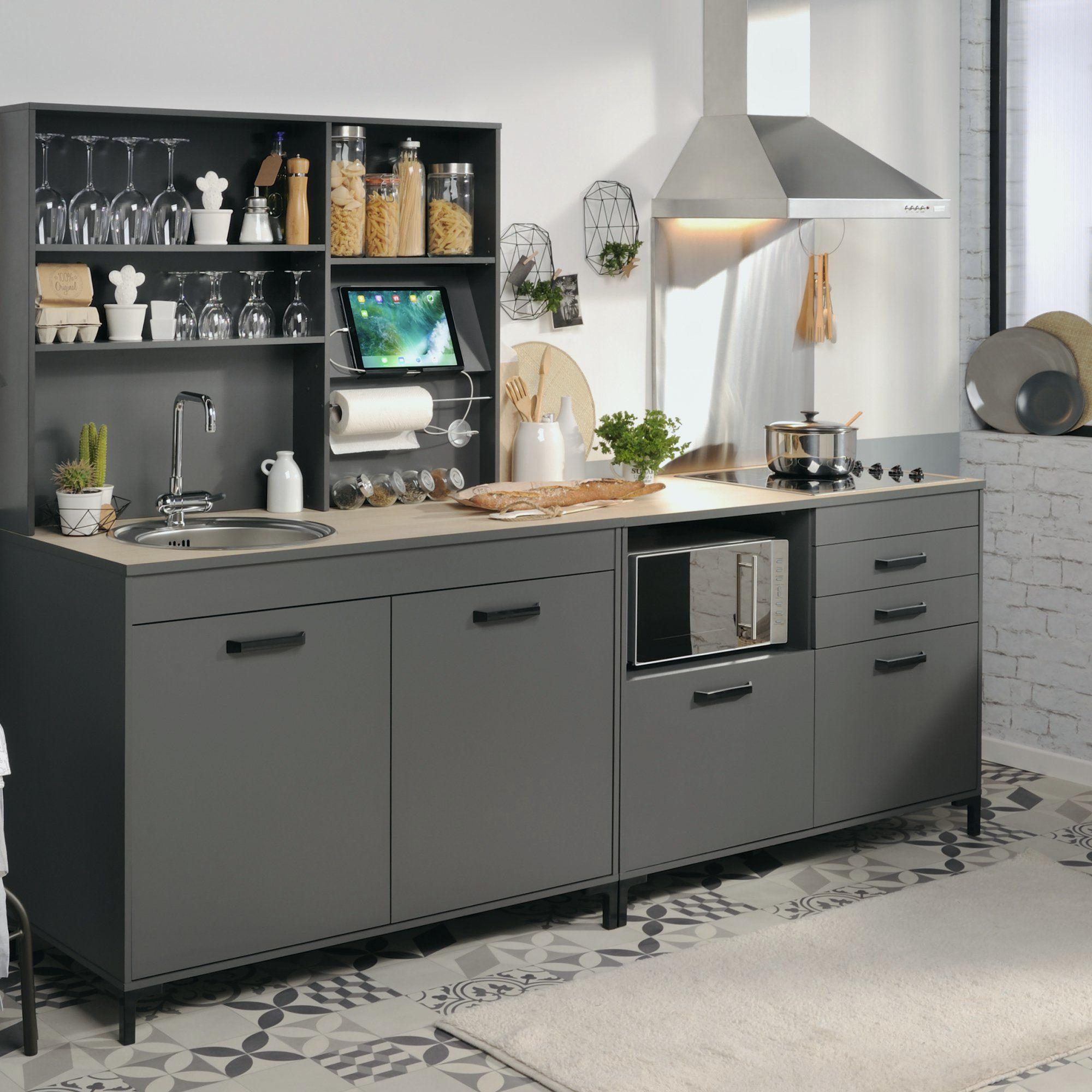 Poignée Meuble Cuisine Brico Depot Nouveau Galerie 100 Idees De Meuble Cuisine Gris