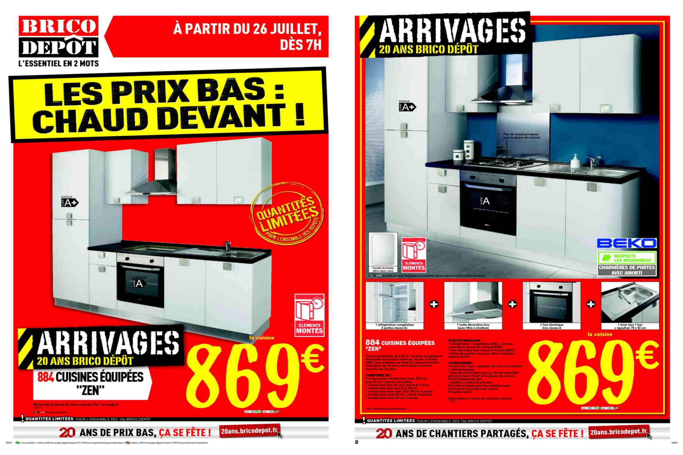 Poignée Meuble Cuisine Brico Depot Unique Photographie Ides Dimages De Fixation Parabole Brico Depot