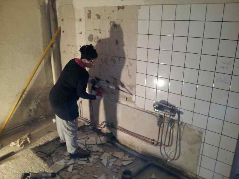 Pose Carrelage Mural En Quinconce Beau Photos Pose Faience Salle De Bain Sur Placo Fresh Enlever ...