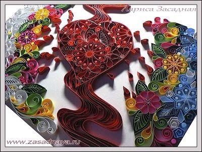 Quilling Modele Gratuit A Imprimer Beau Photos Les 503 Meilleures Images Du Tableau Abstract Quilling Sur Pinterest