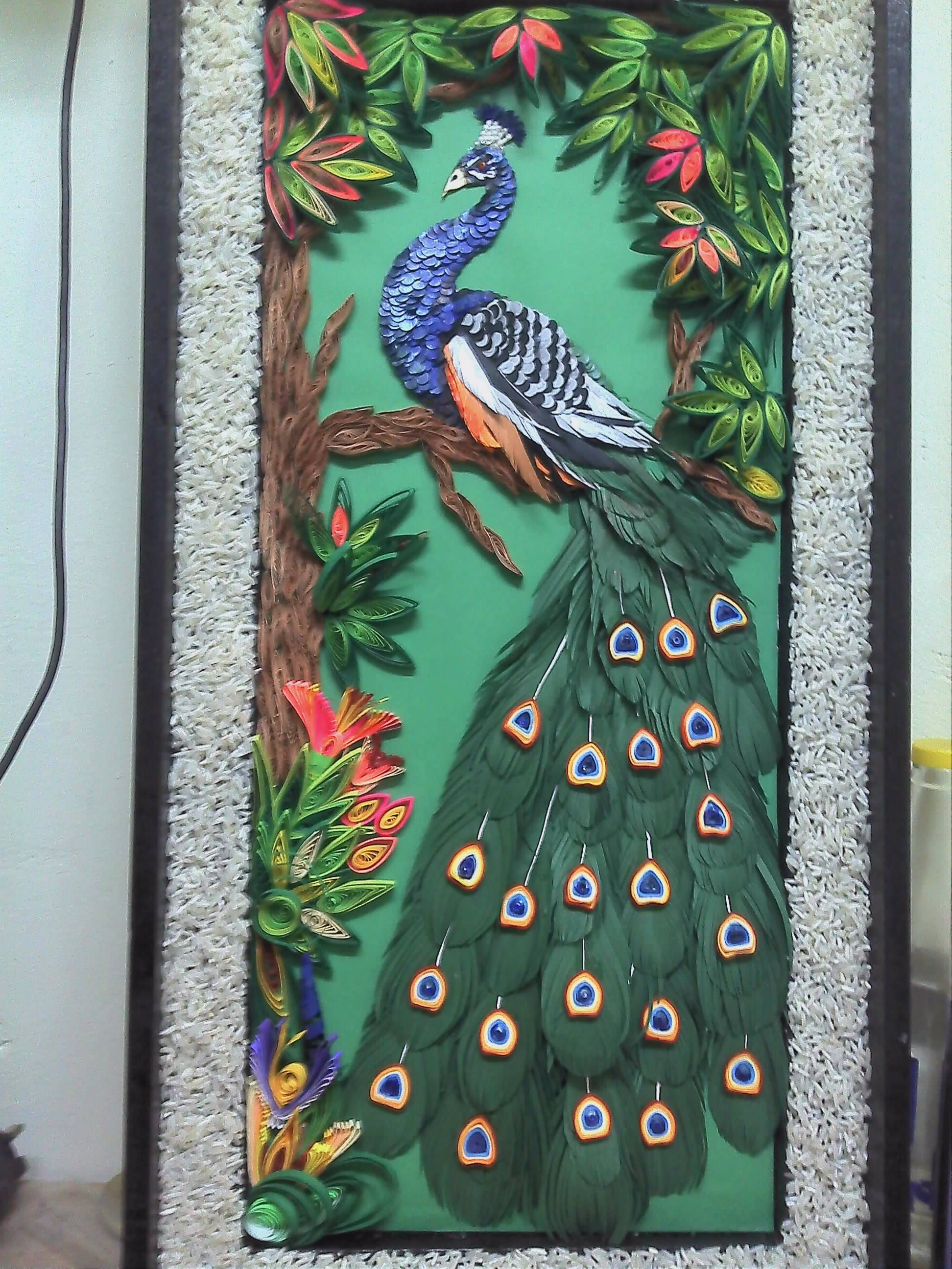 Quilling Modele Gratuit A Imprimer Impressionnant Photographie Peacock Quilling Quilled Peacocks Pinterest