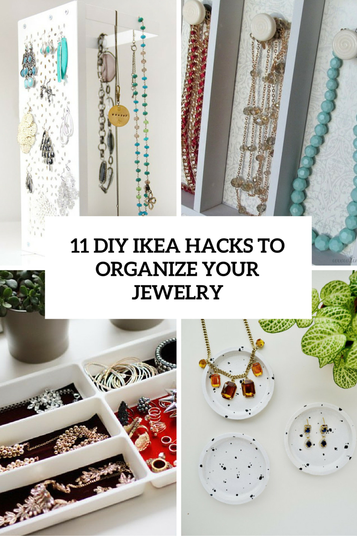 Rack Verre Ikea Beau Collection 11 Stylish Diy Ikea Hacks Pour organiser Vos Bijoux Bidernet