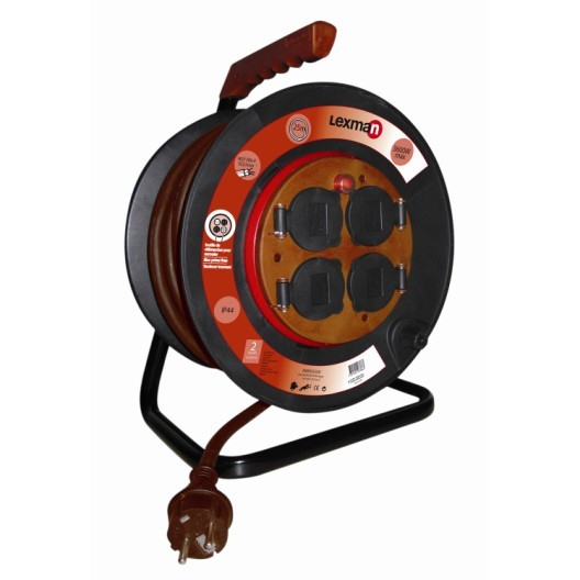 Radiateur Electrique Sur Roulette Leroy Merlin Impressionnant Image Enrouleur De C¢ble électrique Chantier L 25 M Lexman