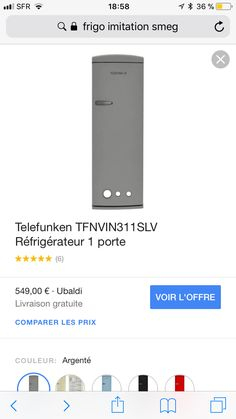Refrigerateur Telefunken Rouge Beau Photos Continental Edison Cefc318blv Réfrigérateur Congélateur Bas 318l