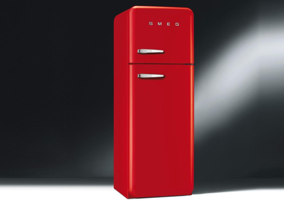Refrigerateur Telefunken Rouge Frais Stock Smeg Rouge