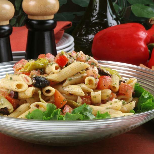 Salade De Perles Au Chorizo Inspirant Stock Pennes  La Napolitaine Recette