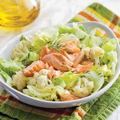 Salade De Perles Au Chorizo Meilleur De Stock Salade Fra Cheur Aux Crevettes nordiques Et Saumon Fumé