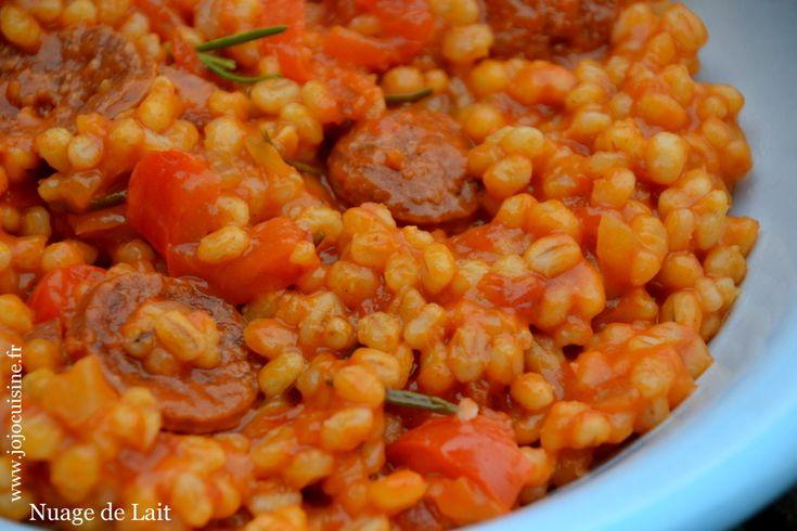 Salade De Perles Au Chorizo Nouveau Collection Les 21 Meilleures Images Du Tableau orge Perlé Recettes Sur