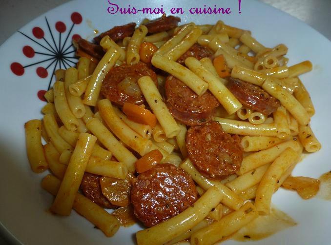 "Salade De Perles Au Chorizo Nouveau Photos Macaronis Au Chorizo ""massa Chouri§o"" Suis Moi En Cuisine"
