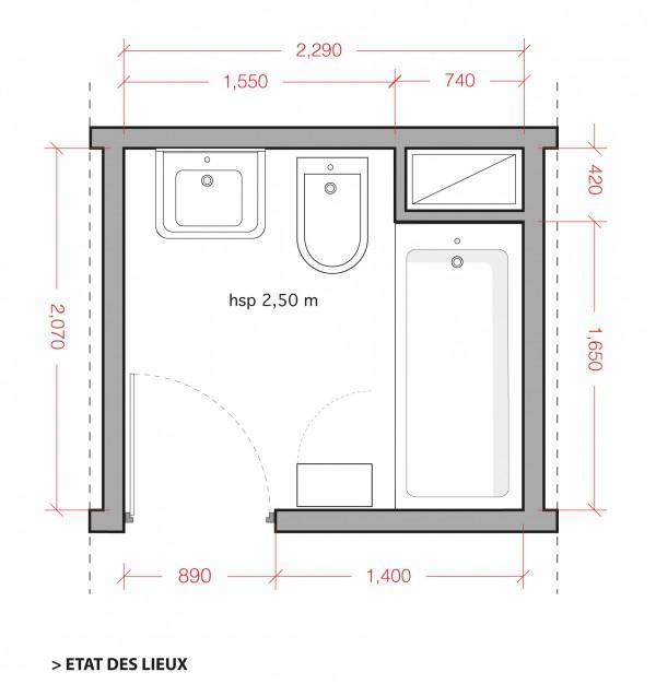 Salle D Eau 5m2 Meilleur De Galerie Plan Salle De Bain Douche Et Baignoire Maison Design Nazpo