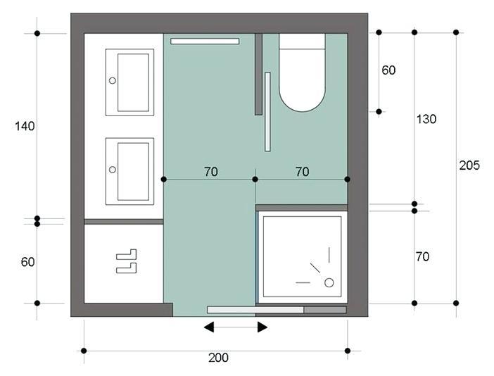 Salle De Bain 4m2 Ikea Beau Photos Plans De Salle De Bain – whohelp