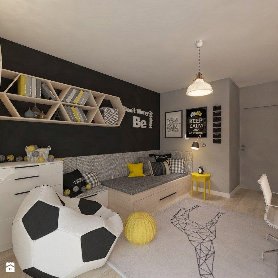 Salle De Bain Ado Garcon Luxe Photos Mieszkanie W Maladze Pok³j Dziecka Styl nowoczesny Zdjęcie Od