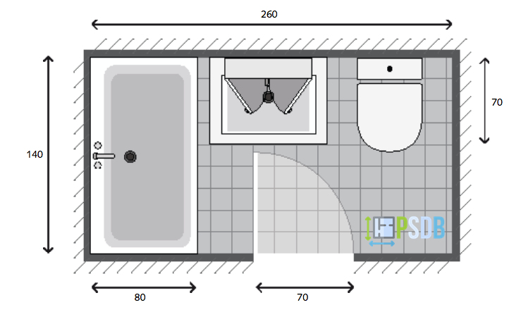 Salle De Bain De 2m2 Luxe Photographie Exemple De Plan De Salle De Bain De 3 5m2