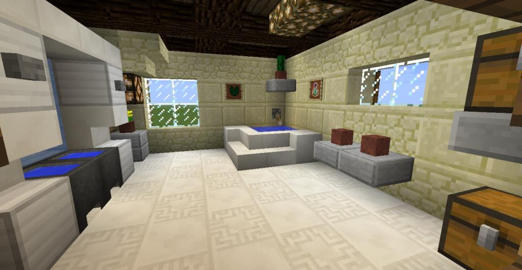 Salle De Bain Moderne Minecraft Impressionnant Stock Beautiful Salle De Bain Moderne Minecraft S Ansomone