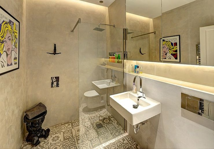 Salle De Bain Rustique Chic Beau Images Appartement De Ville Au Design Intérieur Rustique Pinterest