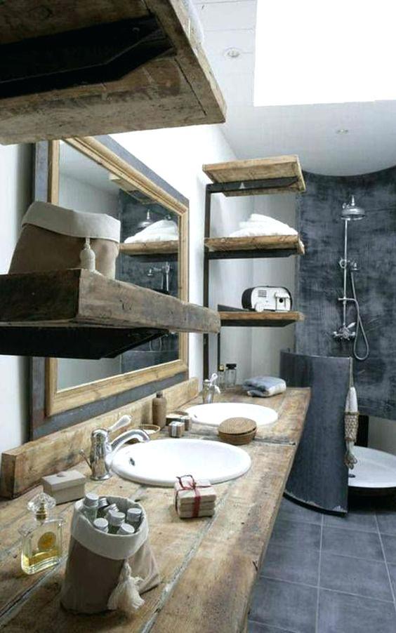 Salle De Bain Rustique Chic Beau Photographie Salle De Bain Rustique – Apartloanfudousanfo