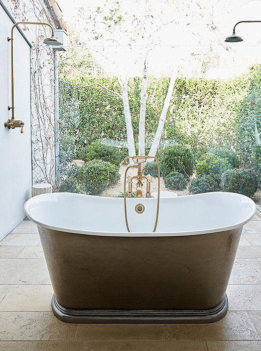 Salle De Bain Rustique Chic Meilleur De Image Inside A Sprawling Ojai Oasis with Flawless Design Pinterest