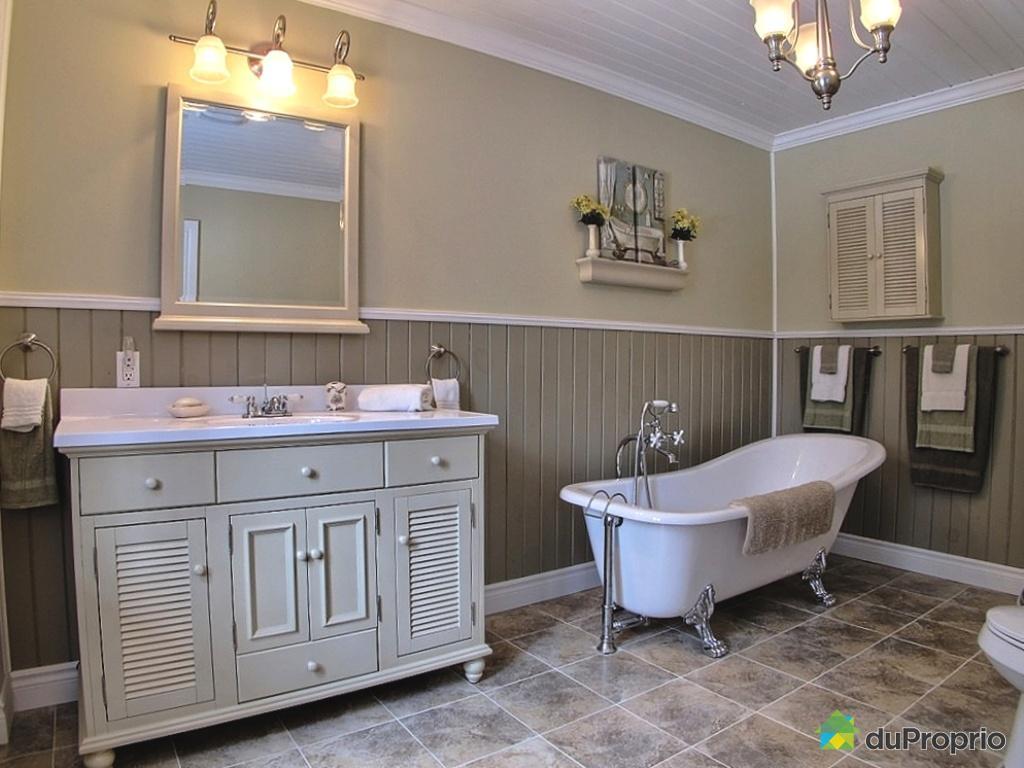 salle de bain rustique chic beau collection de inspiration rustique salle bains. Black Bedroom Furniture Sets. Home Design Ideas