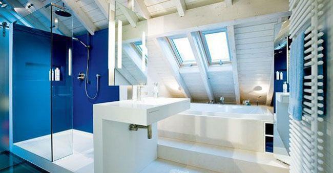 Salle De Bain sous Pente 5m2 Élégant Photos Douche Italienne sous Ble Maison Design Nazpo