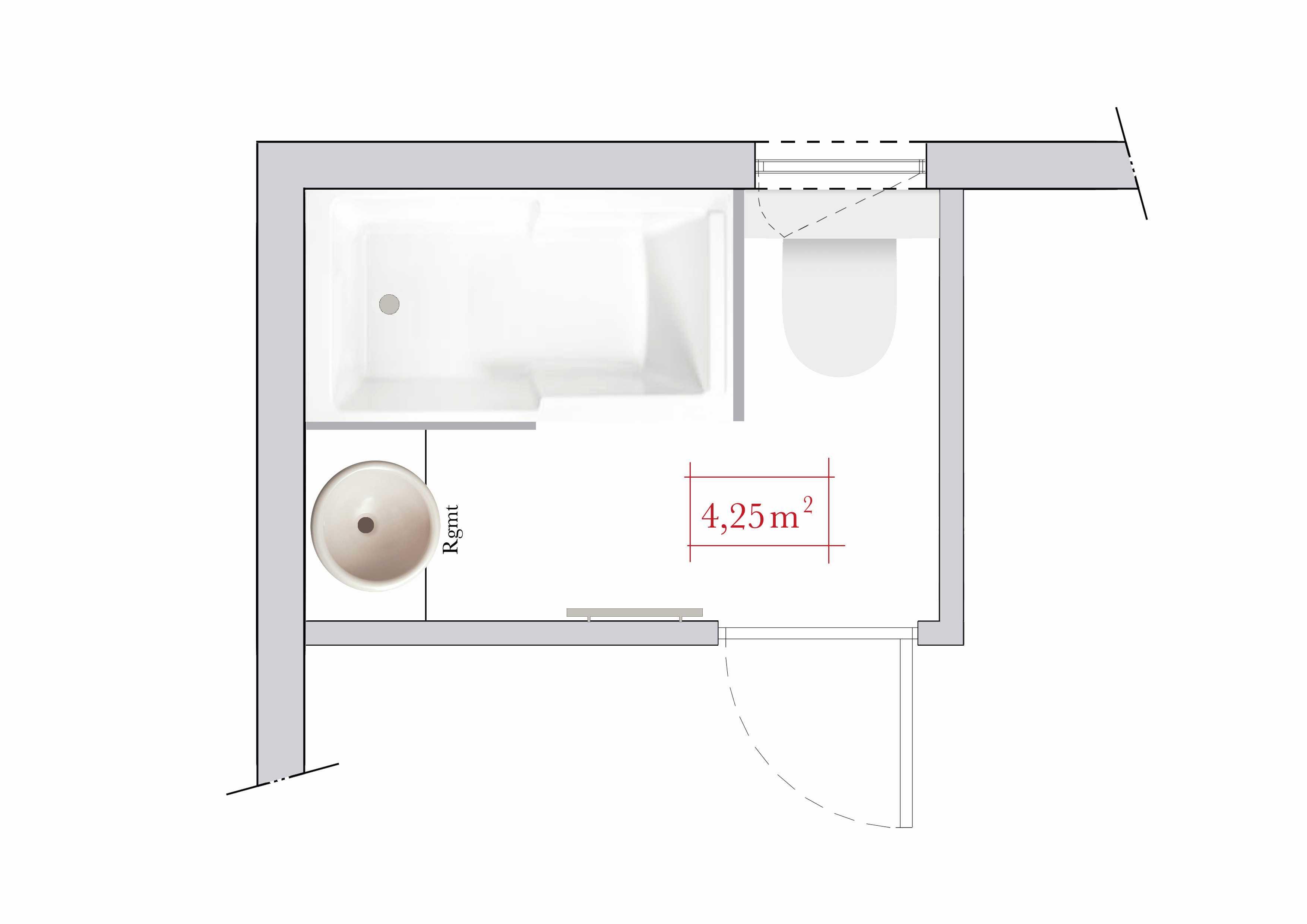 Salle De Bain sous Pente 5m2 Unique Galerie Plan Salle De Bain 5m2 Meilleures Plan De Salle De Bain Amenagement
