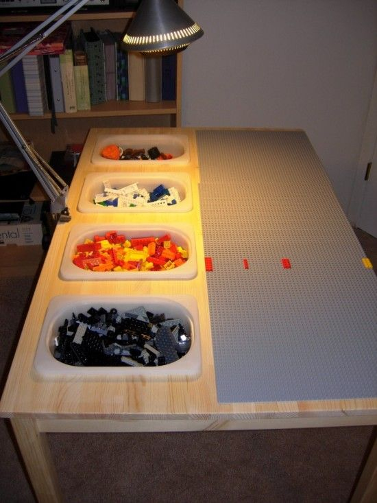 Salle De Jeux Ikea Inspirant Image Weekend Project 1 Hack A Lego Table