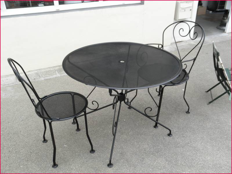 Salon De Jardin Fer forgé Le Bon Coin Frais Collection Stunning Table De Jardin Ronde Le Bon Coin Ideas Awesome Interior
