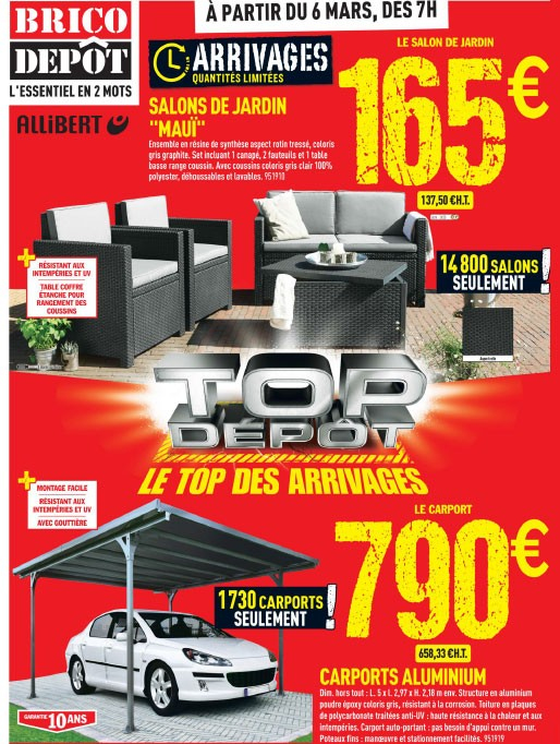 Salon Jardin Allibert Brico Depot Unique Collection Luxe Brico Depot Quimper Beericious