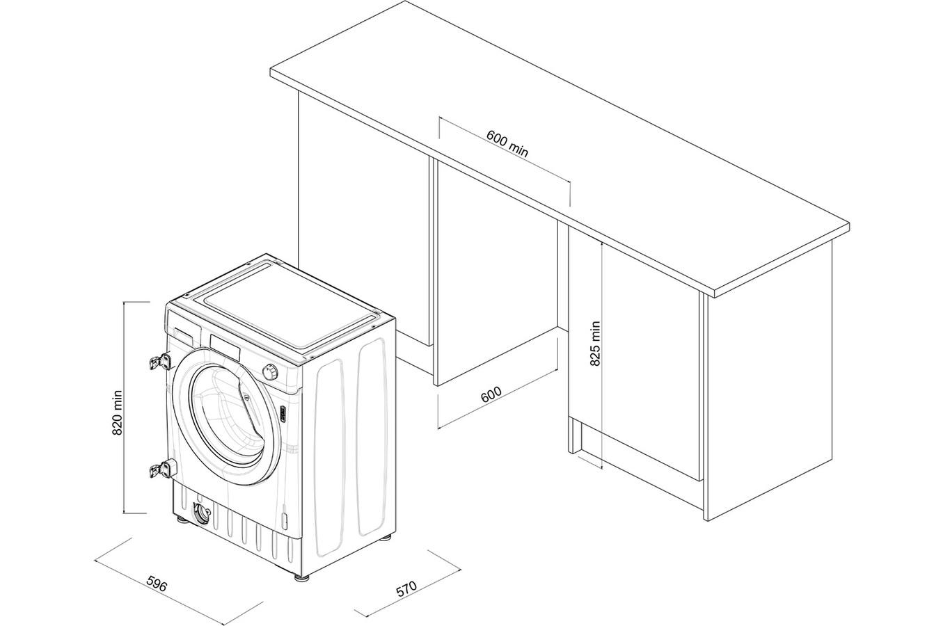 darty lave linge encastrable elegant meuble pour lave. Black Bedroom Furniture Sets. Home Design Ideas